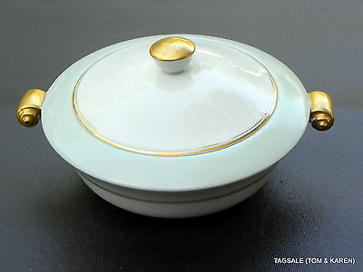 """RAYNAUD LIMOGES FRANCE china ~  COVERED CASSEROLE  ~ 9"""""""