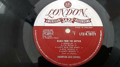 CHAMPION JACK DUPREE Blues From The Gutter LP UK 1959
