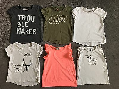 Girls NEXT T-shirt Bundle, 18-24 Month