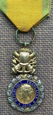 WW1 French Medal Militaire - same level as British DCM
