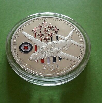 The Red Arrows 2016 - RAF Aerobatic Team Commemorative Medal Coin Lot 1