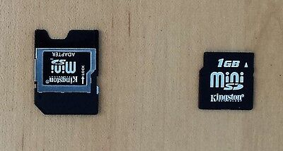 Kingston 1GB miniSD Memory Card with MiniSD Card Adapter