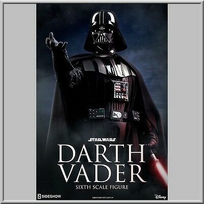 """Star Wars 1/6 """" Dark Vador """" New . Sideshow / Hot Toys Scale ."""