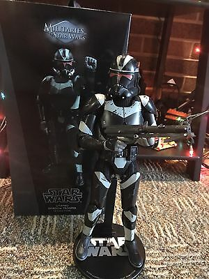 Sideshow Collectibles Utapau Shadow Trooper Star Wars Clone Trooper Hot Toys