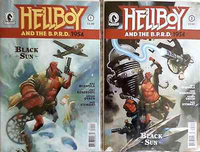 Hellboy and the B.P.R.D.: 1954 ― Black Sun #1 - #2