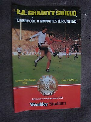 1983 Charity Shield - Liverpool V Manchester United (Wembley Stadium)