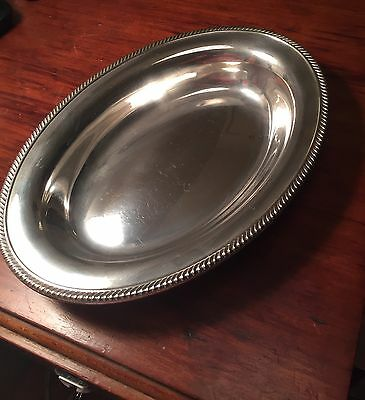 Antique Gorham Sterling Oval Bowl