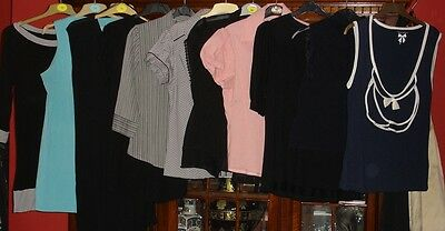 Wholesale Job Lot Women's Tops & Blouses New With & Without Tags & Used