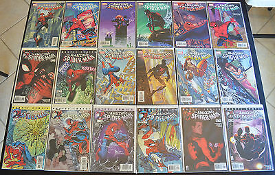 AMAZING SPIDER-MAN (18-Book) LOT #32 33 34 35 37 38 39 40 47 49 51-58 HIGH GRADE