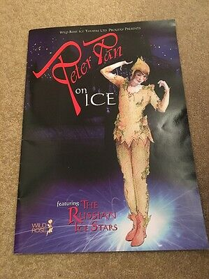 Peter Pan On Ice Russian Ice Stars Programme Wild Rose Theatre Skating 1999