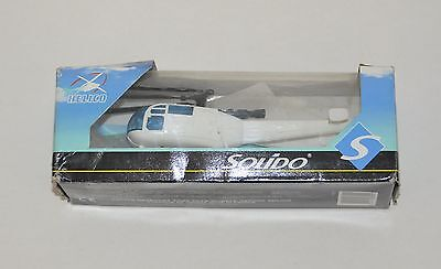 French Solido Eurocopter Alouette III helicopter in original box