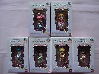 "Twinkle Dolly Sailor Moon ""Sailor Moon"" Mini Figure charm all Set of 6   part 1"