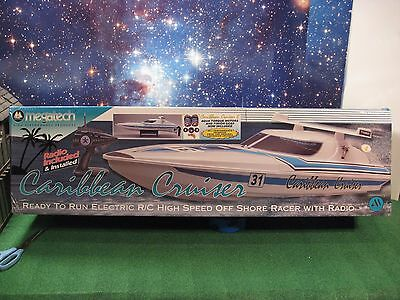 Caribbean Cruiser Mtc6909 Rare Hard To Find Rc Boat Nib! Discontinued! Megatech