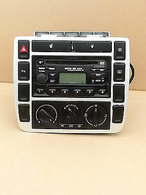 Ford Galaxy Mk2  2001 - 2006 Centre Console With Heater Control And Radio