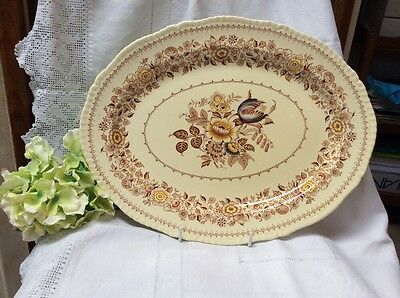 Canterbury Ridgways Platter Plate. Meat Plate. Large Oval Centre Plate. Dinner.