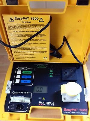 Martindale Electric EasyPAT 1600 PAT tester