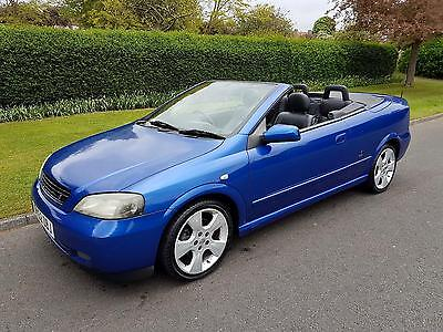 VAUXHALL ASTRA 1.8i (16V) - 2DOOR - CONVERTIBLE ** LOW MILES **