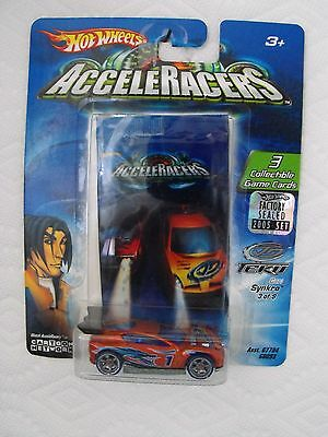 2005 Hot Wheels Acceleracers Teku Synkro 3 Of 9 From Factory Set Vhtf