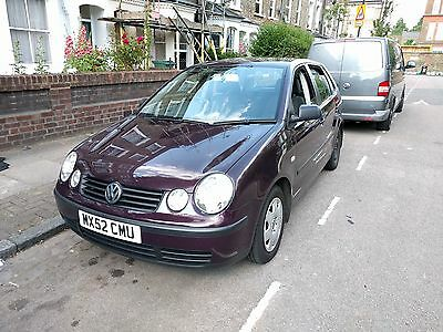 2002 VW Polo E 1.2 Purple (Rosewood Red) ONLY 88k MILES! (runs but needs work)