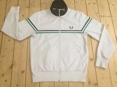Fred Perry Vintage Tracky Top Size Medium
