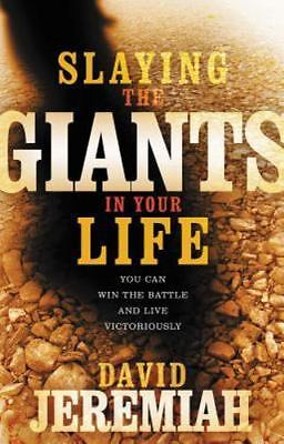 Slaying the Giants in Your Life by David Jeremiah Paperback Book (English) God