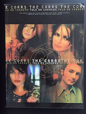 The Corrs 'Talk On Corners' - Piano, Guitar & Vocal