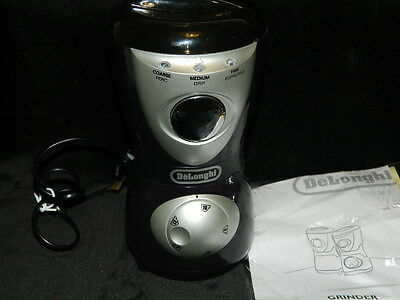 DeLonghi Coffee Grinder KG39 - Barely Used - Excellent Condition No Box