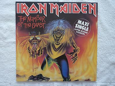 """Iron Maiden - The Number Of The Beast 12"""" Maxi Single Nr Mint"""