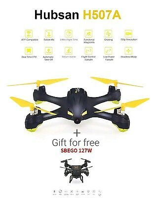 2in1 Hubsan H507A X4 Star limited edition APP Driven Drone GPS 6Axis Gyro 720PHD
