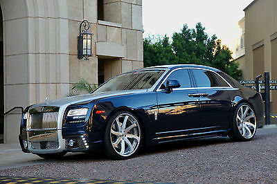 2013 Rolls-Royce Ghost Base Sedan 4-Door 2013 Rolls-Royce Ghost WALD BLK BISSON