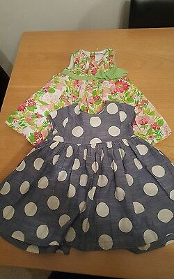 baby girl 12-18 months 2 summer dresses next
