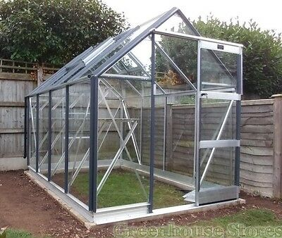8x6 Aluminium Greenhouse (In Worcester)