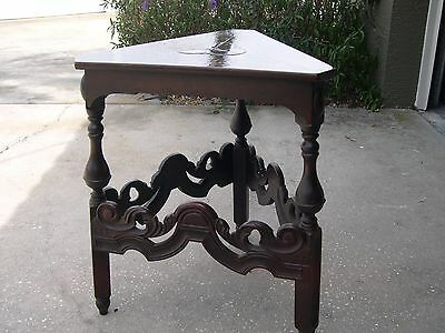 Rare Vintage Kittenger End Table/side Table Gothic Great Condition