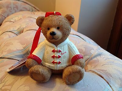 Harrods teddy Hugh limited edition Resin 2016 BNWT