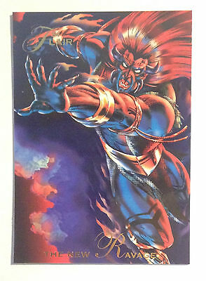 1994 Flair Marvel # 117 The New Ravage base Trading Card