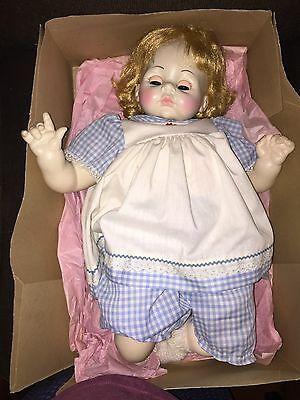 "Vintage 197Os Madame Alexander Baby Doll~Pussy Cat-Blonde 22"" All Orig In Box"