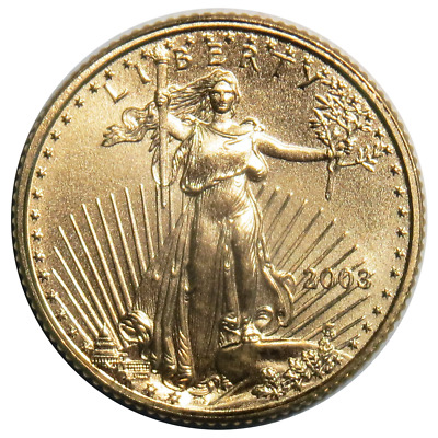 2003 $5 American Gold Eagle 1/10 oz. (Brilliant Uncirculated)