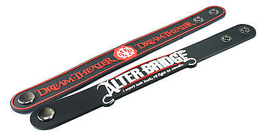 2X Dream Theater & ALTER BRIDGE Rubber Wristband Bracelet Free Shipping