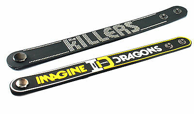 2X THE KILLERS & IMAGINE DRAGONS Rubber Wristband Bracelet Free Shipping