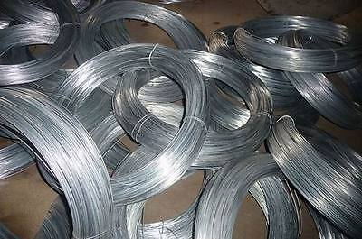 Galvanised farm Fencing Wire 2.5mm dia. LOW Tensile 1000mtr roll