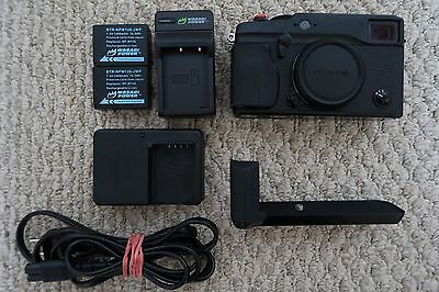 Fujifilm X Series X Pro-1 16.3MP Digital Camera - Black (Body Only)
