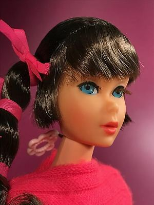 Vintage Mod 1969 SPANISH Talking Barbie Doll in OSS  - TALKS & SPEAKS!!