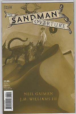 Sandman Overture #3 1:200 Variant Cover by Dave McKean