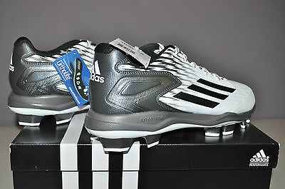 Mens   Adidas Power Alley 3 TPU Baseball Cleats US Size 11  Style #S84748
