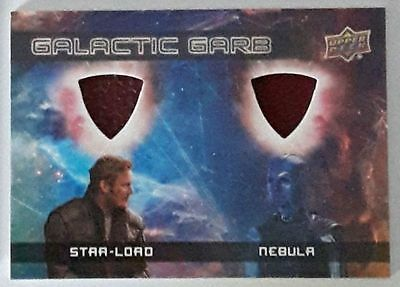 2017 UD Guardians of the Galaxy 2 Dual Galactic Garb Star-Lord Nebula DM-6
