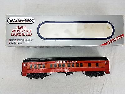 """Williams O Gauge Crown Edition Southern Pacific """"Daylight"""" Madison Passenger Car"""