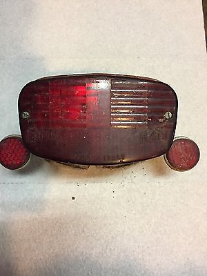 Vespa Blue Badge Siem Mickey Mouse Tail Light Taillight Complete