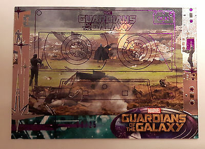 2014 UD Guardians Of The Galaxy Yondu Purple Foil Parallel 9/25, #72 SP
