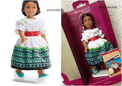 """American Girl Special Edition 6"""" MINI JOSEFINA DOLL~BOOK~New with Stand"""