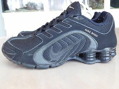 Womens Size 7 Nike Shox Navina All Black Running Shoes 356918-002